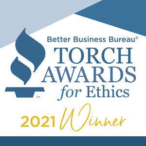 Better Business Bureau Torch Award for Ethics 2021 Winner