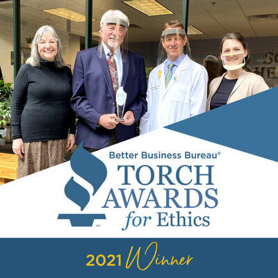 Sound Hearing Instruments BBB Torch Award for Ethics Winner 2021
